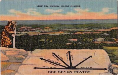 GA-124 Seven states