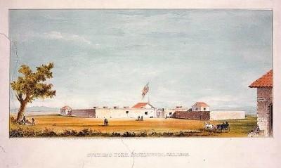CA-103 Sutter's Fort c.1866