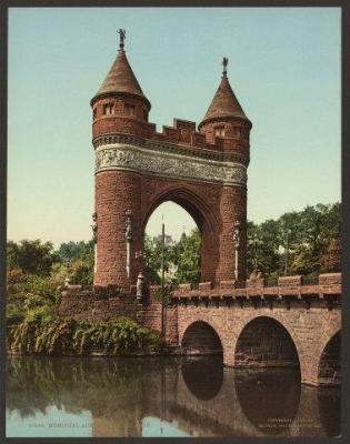CT-105 Memorial Arch
