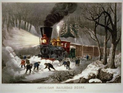RR-104 Railroad winter