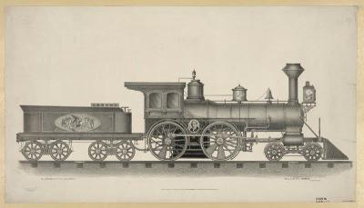 RR-107 Steam Locomotive