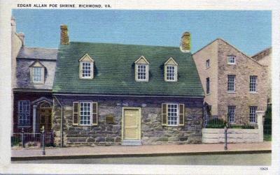 VA-107 Edgar Allen Poe Home