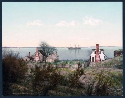 VA-124 Yorktown harbor