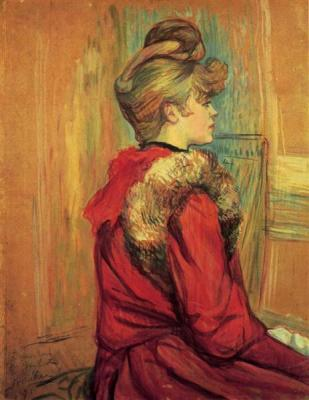 Girl in a Fur, Mademoiselle Jeanne Fontaine