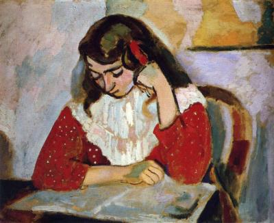 The Reader, Marguerite Matisse