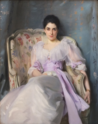 Portrait of Lady Agnew of Lochnaw
