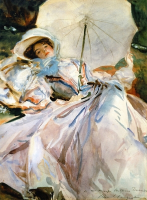 La Dame de la sombrilla (Woman with an Umbrella)