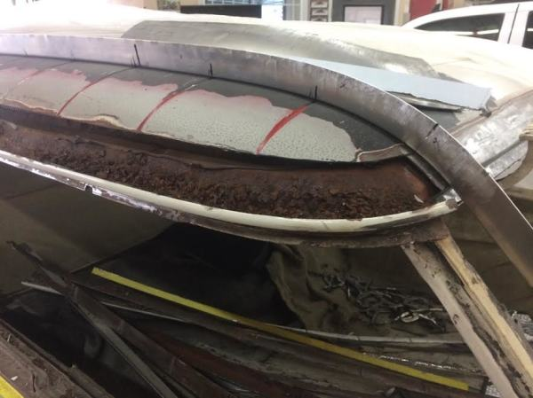 1955 Nomad Roof Repair