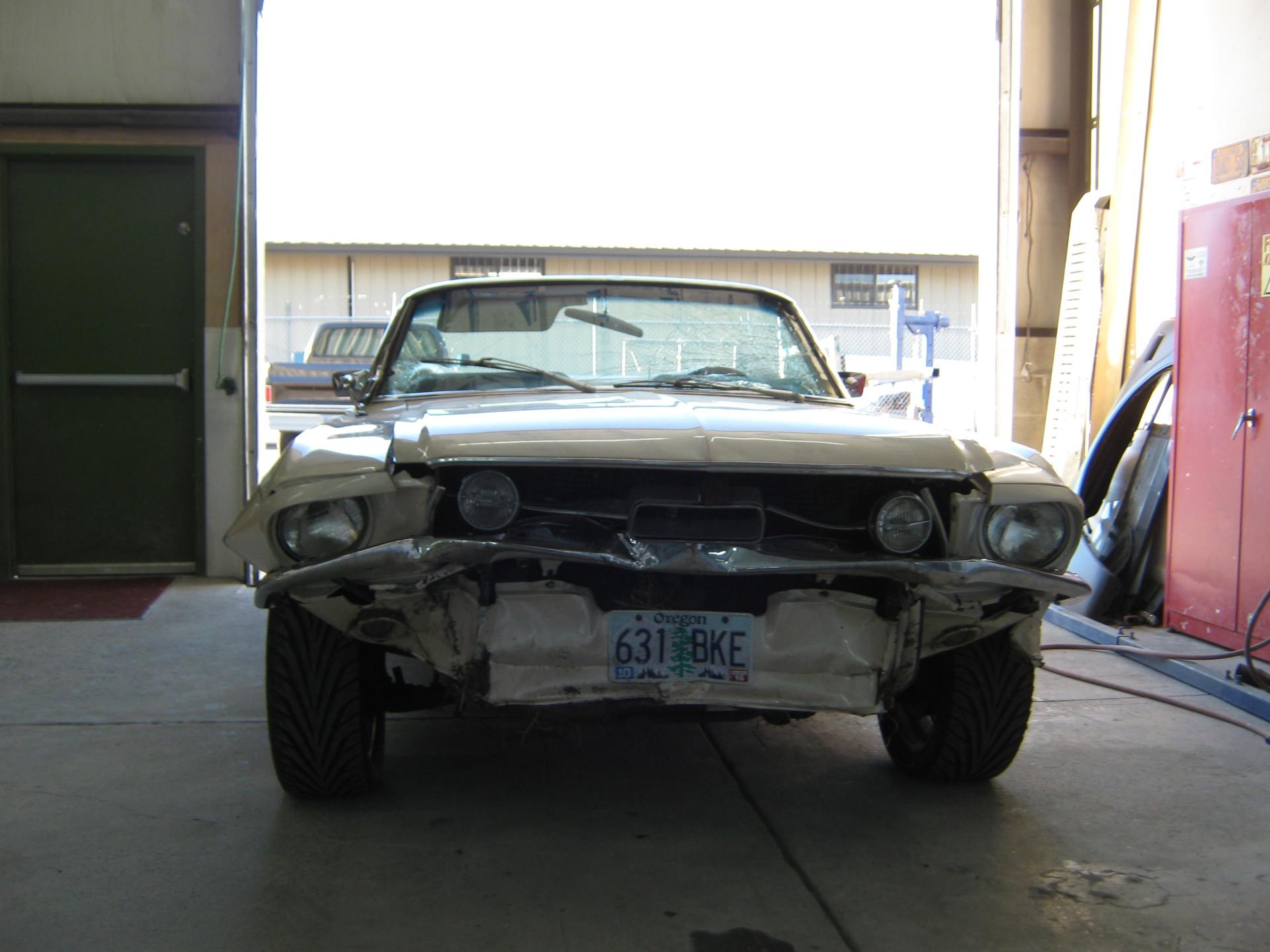 1967 Mustang Repair