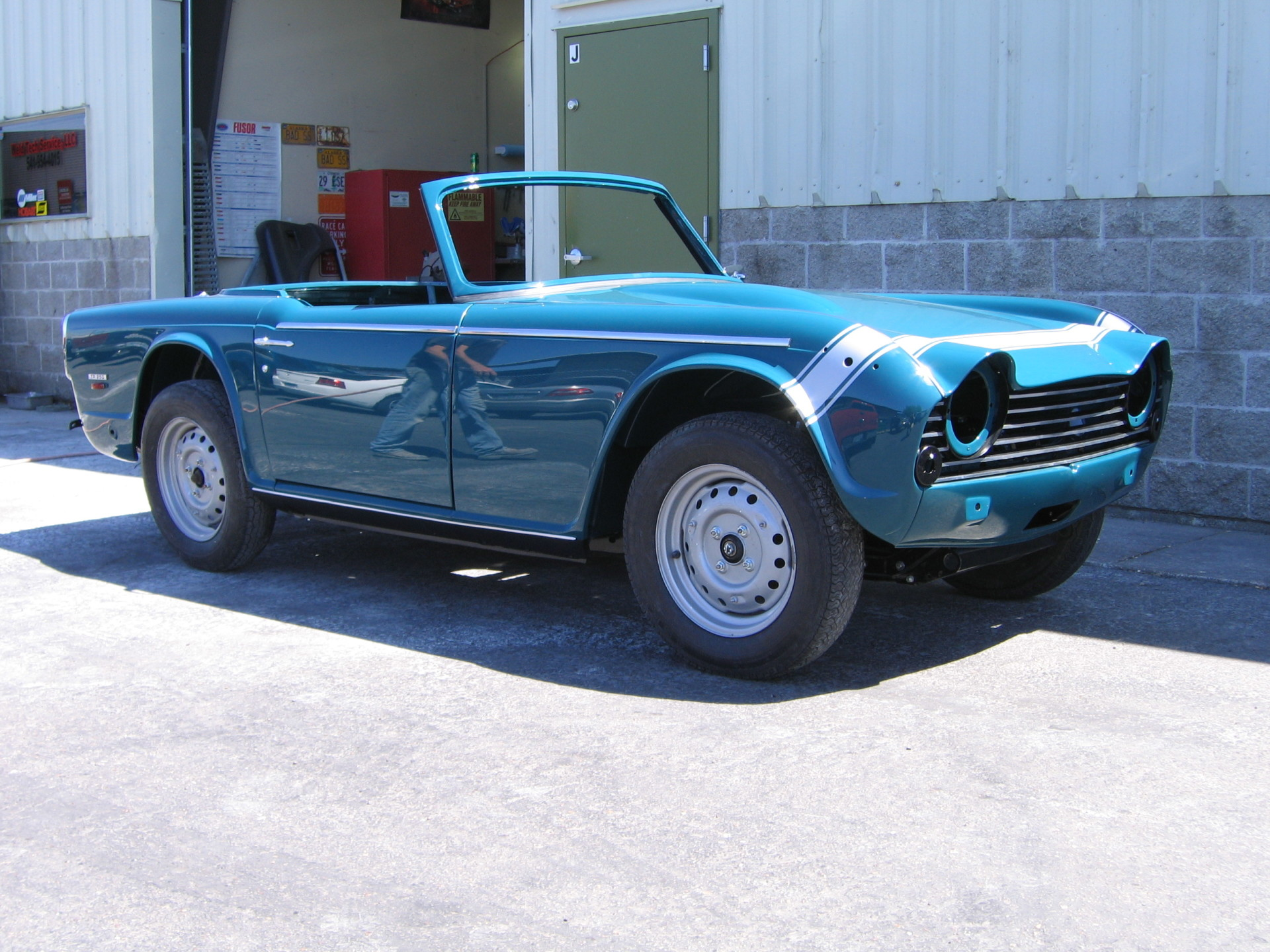 1967 Triumph TR250