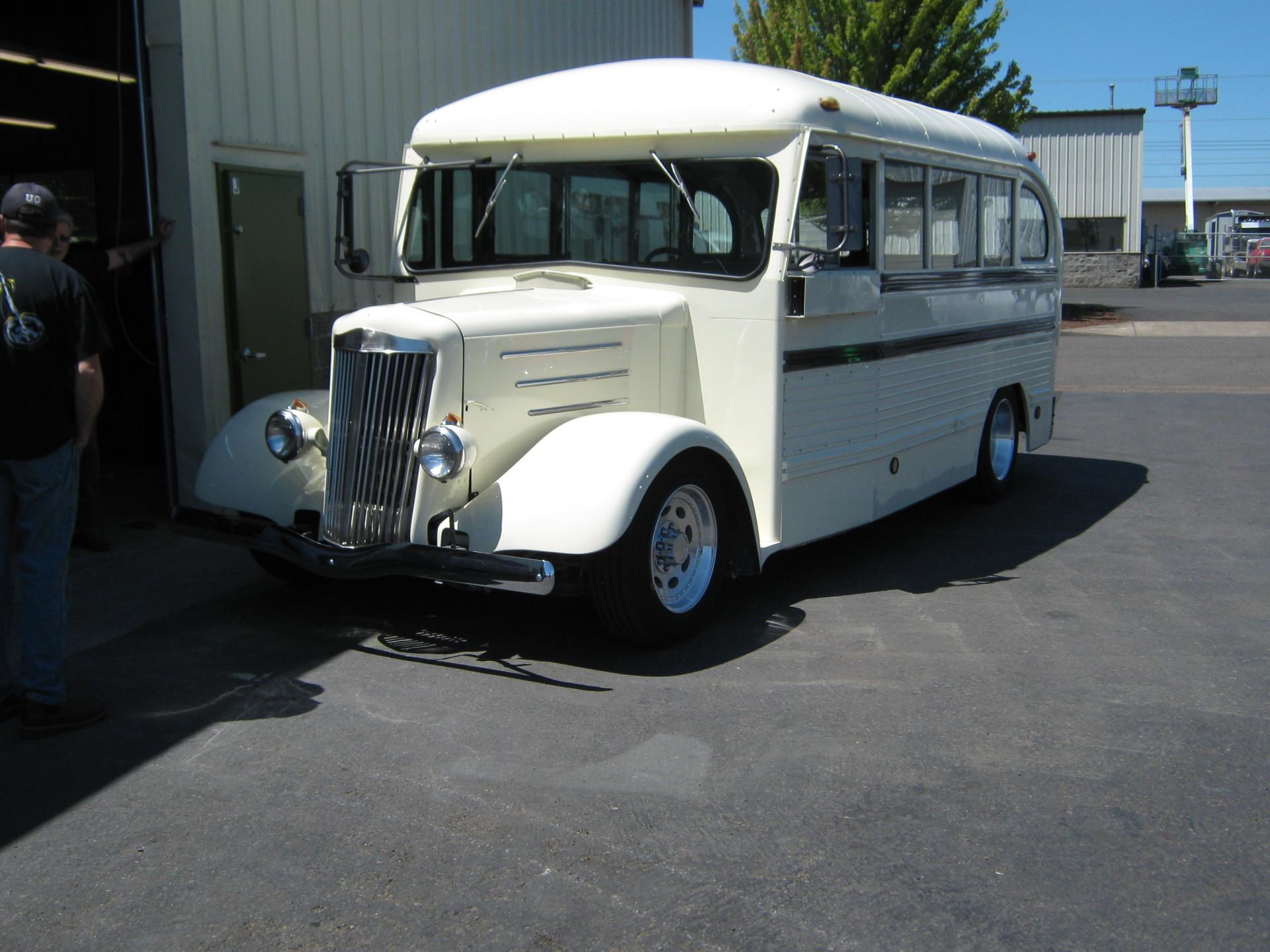 50's School Bus