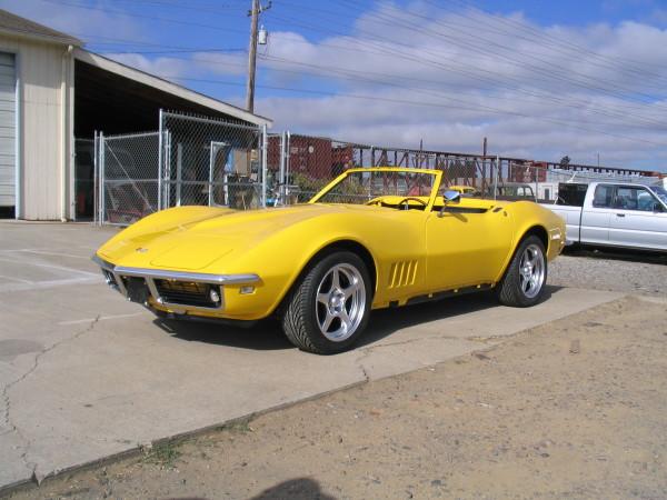 1968 Corvette Roadster
