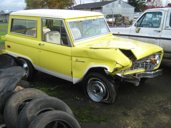 1974 Bronco Repair