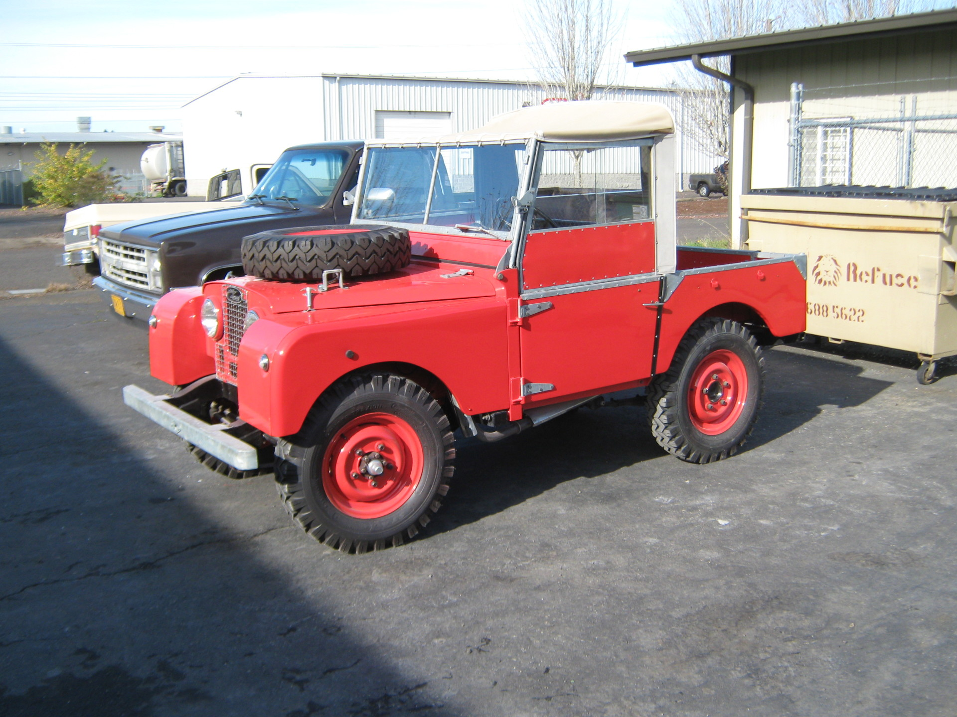 Series I Land Rover