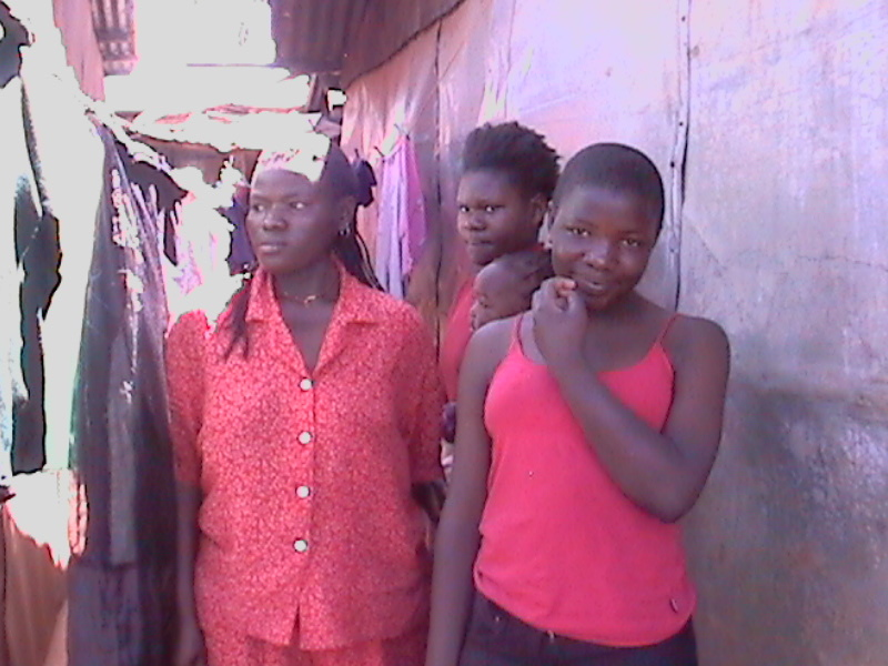 Young Ladies in Kibera