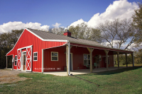 post frame building, commercial post frame building, garage, pole barn, pole barn residential building