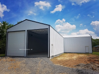 post frame building, commercial post frame building, garage, pole barn, pole barn commercial building