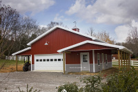 post frame building, pole barn building, residential pole barn, residential garage