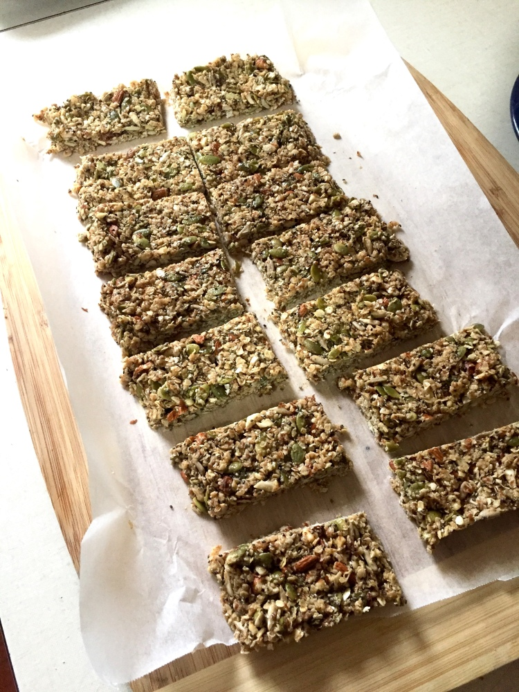 Easy Peasy Muesli Bars