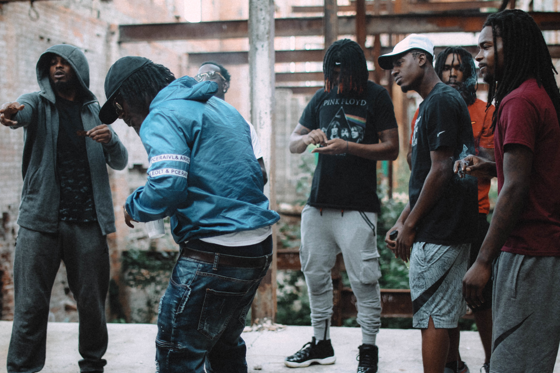 "Behind The Scenes of ""Not A Damn Thang"" Video Shoot (Shot by @DarionJenard)"