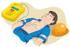 STEPS INVOLVED IN DEFIBRILLATION