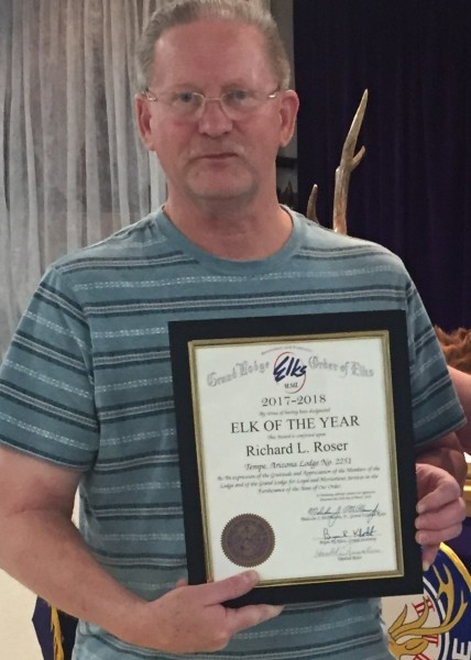Elks of the Year - Rick Roser