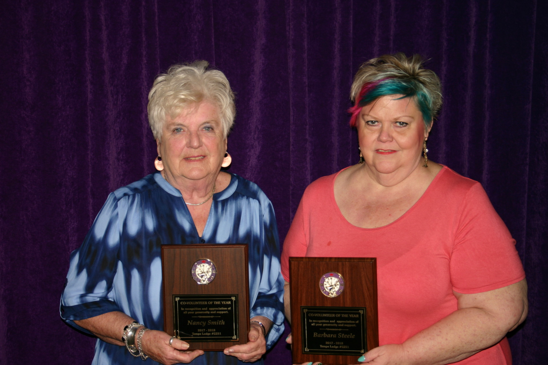 Co-Volunteers of the Year