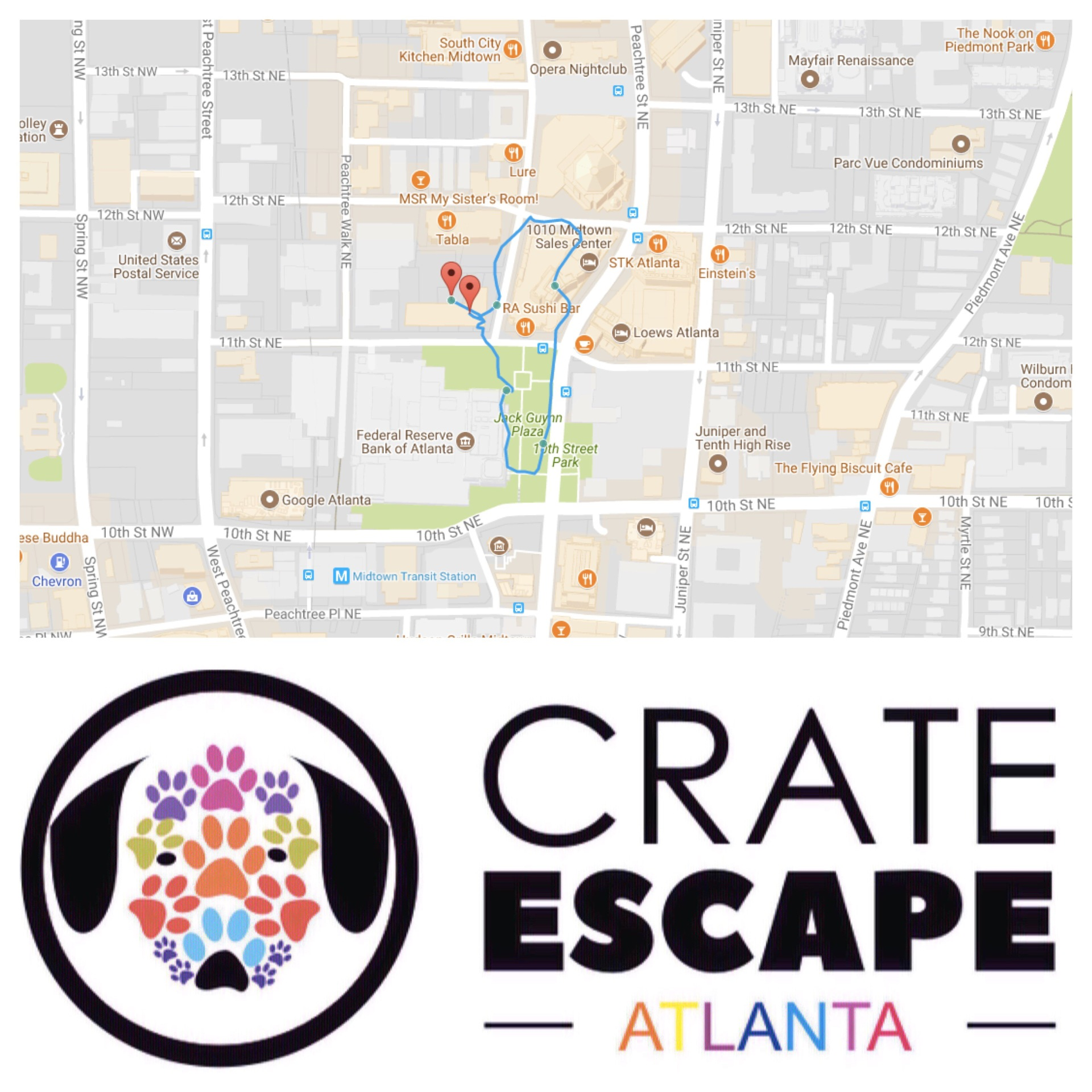 Your On Demand Pet Services : Crate Escape Atlanta