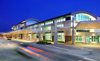 Gulfport-Biloxi Regional Airport At Nighttime