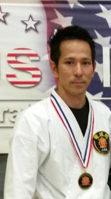 Sensei Osamu Tamashiro