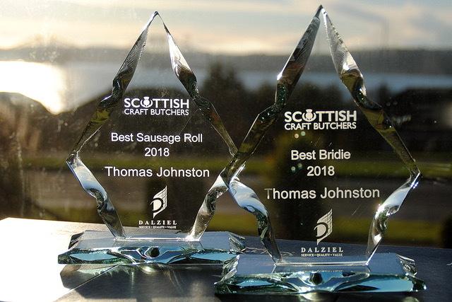 Trophy Glass Award