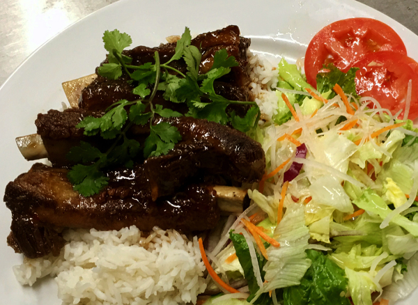 House Spare Ribs Rice Plate