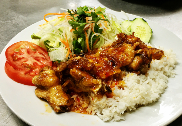 Mama Chicken Wings Rice Plate