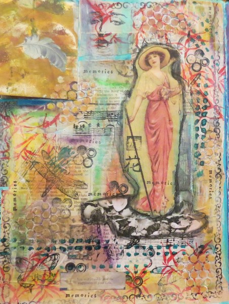 Art Journal Page-Elaine Riley