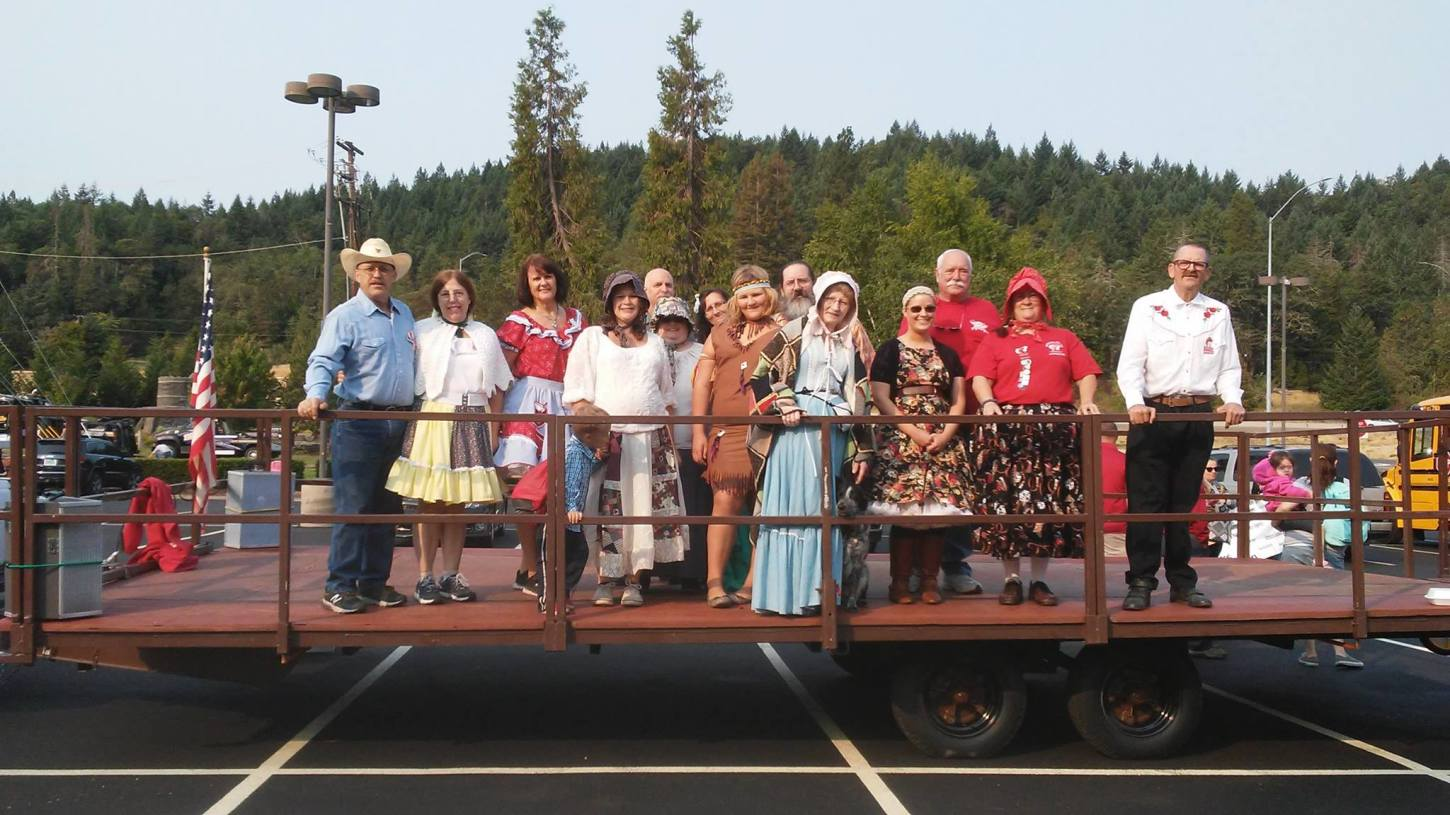 Square dance, canyonville oregon, pioneer days