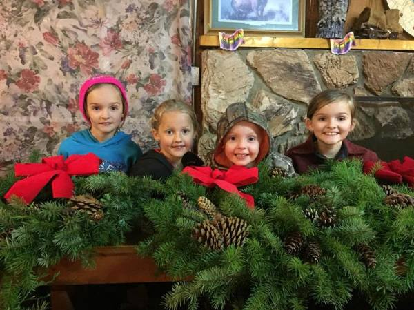 Buckeroo Holiday Wreaths are done!