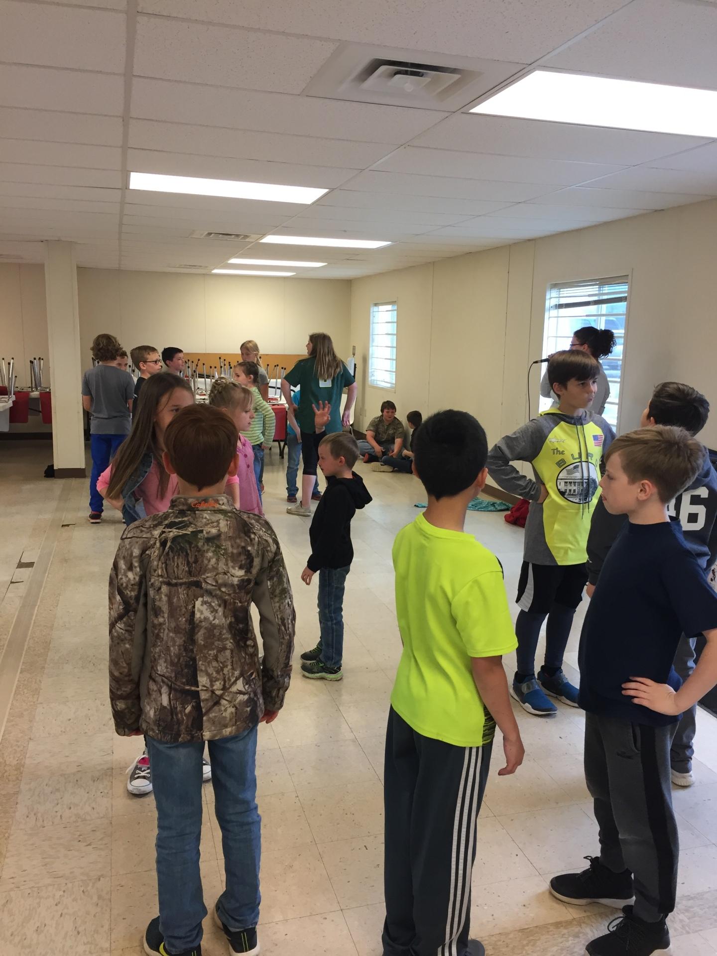 4th Grade Lookingglass Elementary class