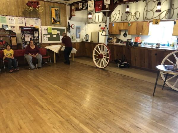 Buckeroo Barn Cleaning Day