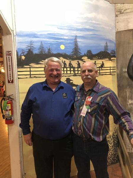 Mark Wheeler and Bruce Knotts