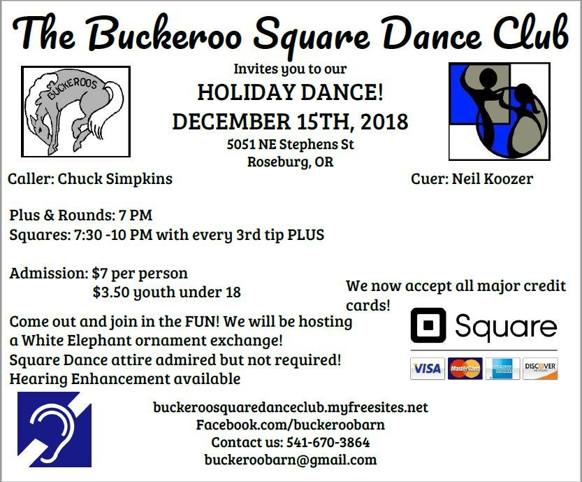 Square Dance, Chuck Simpkins, Fun, Buckeroo Square Dance Club