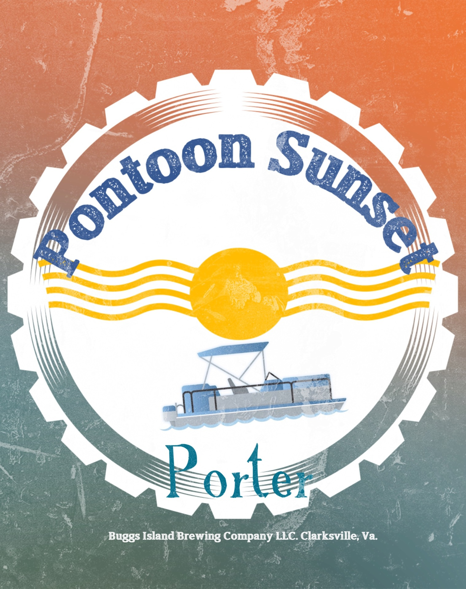 Pontoon Sunset Porter
