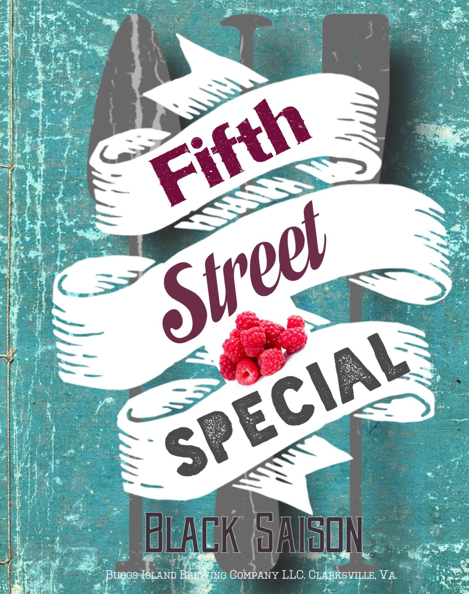 5th Street Special Black Saison