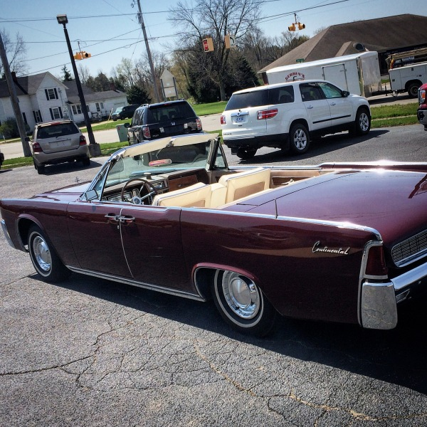 62 LINCOLN CONVERTIBLE