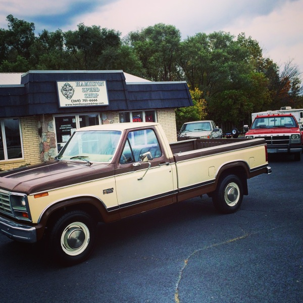 84 FORD PICKUP