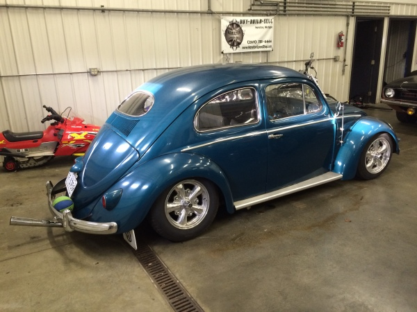 1956 OVAL VW BUG