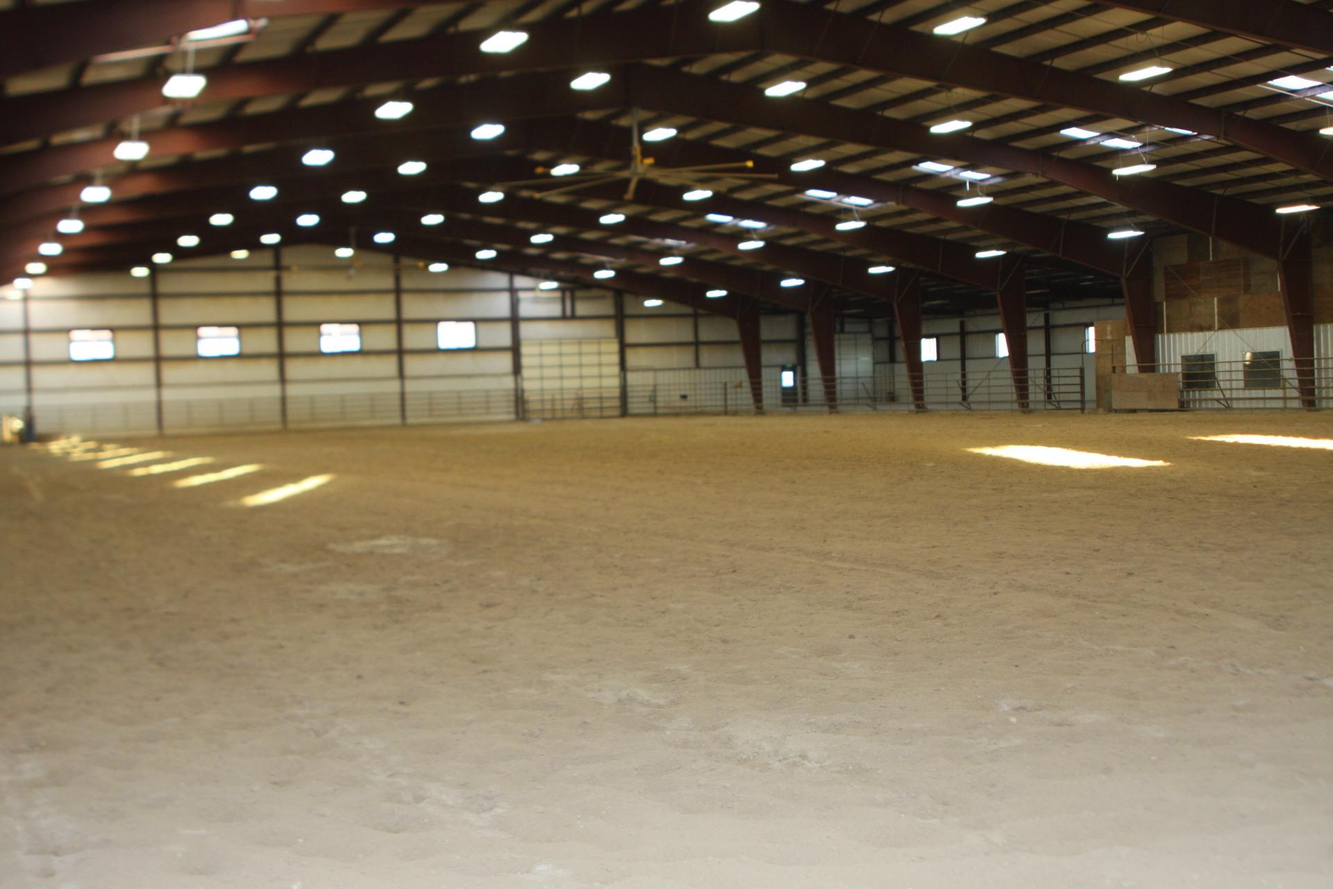 150 x 300 ft Indoor Arena
