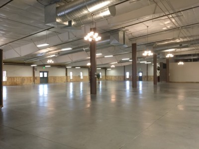 14,500 sq ft Event Center