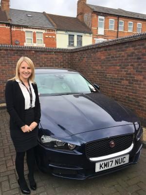 Sarah York - Jaguar Northampton