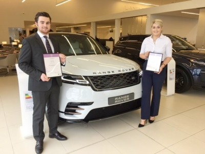 Hugo McGhee & Lucy Bailey-Cantrill - Stafford Land Rover