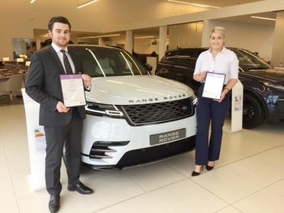 Hugo McGhee & Lucy Bailey-Cantrill - Stafford Land Rover
